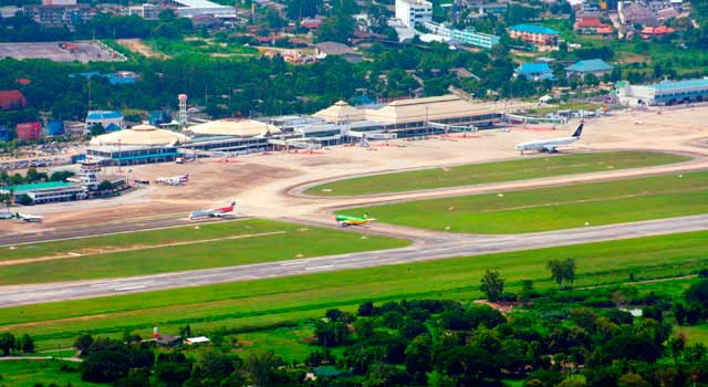 Chiang Mai Airport (IATA: CNX) is the main airport in North Thailand.