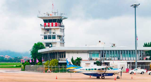Chiang Mai Airport (CNX) served 8,3 Million passengers in 2015.